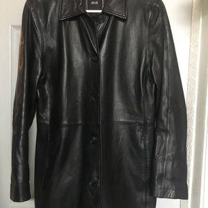 Geniune Black Leather Jacket